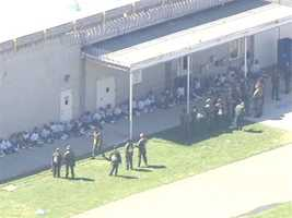 More than 10 people were hurt in a riot that broke out at the California State Prison-Sacramento, according to a Sacramento Metropolitan Fire District official.