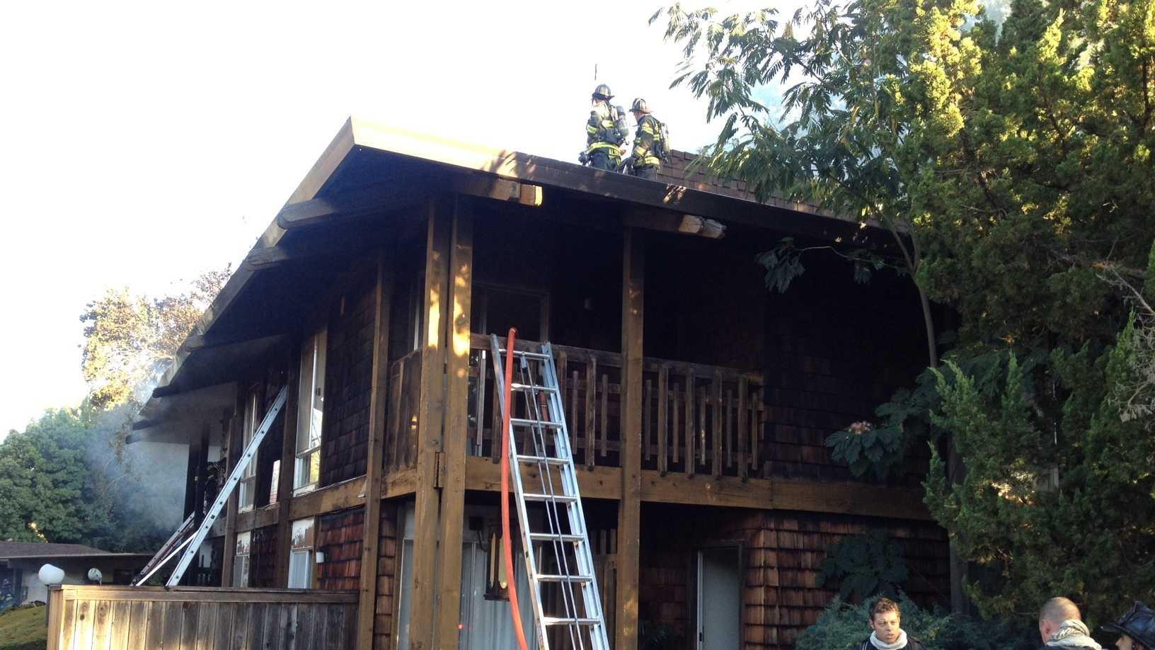 Sacramento apartment fire