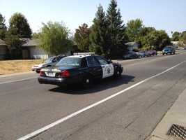 A California Highway Patrol officer was hospitalized with serious but nonlife-threatening injuries Tuesday after crashing his motorcycle on Interstate 80, which backed up traffic for several hours in Sacramento County (Sept. 25, 2012).