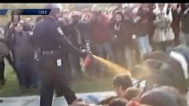 UC Davis settles over pepper spray incident