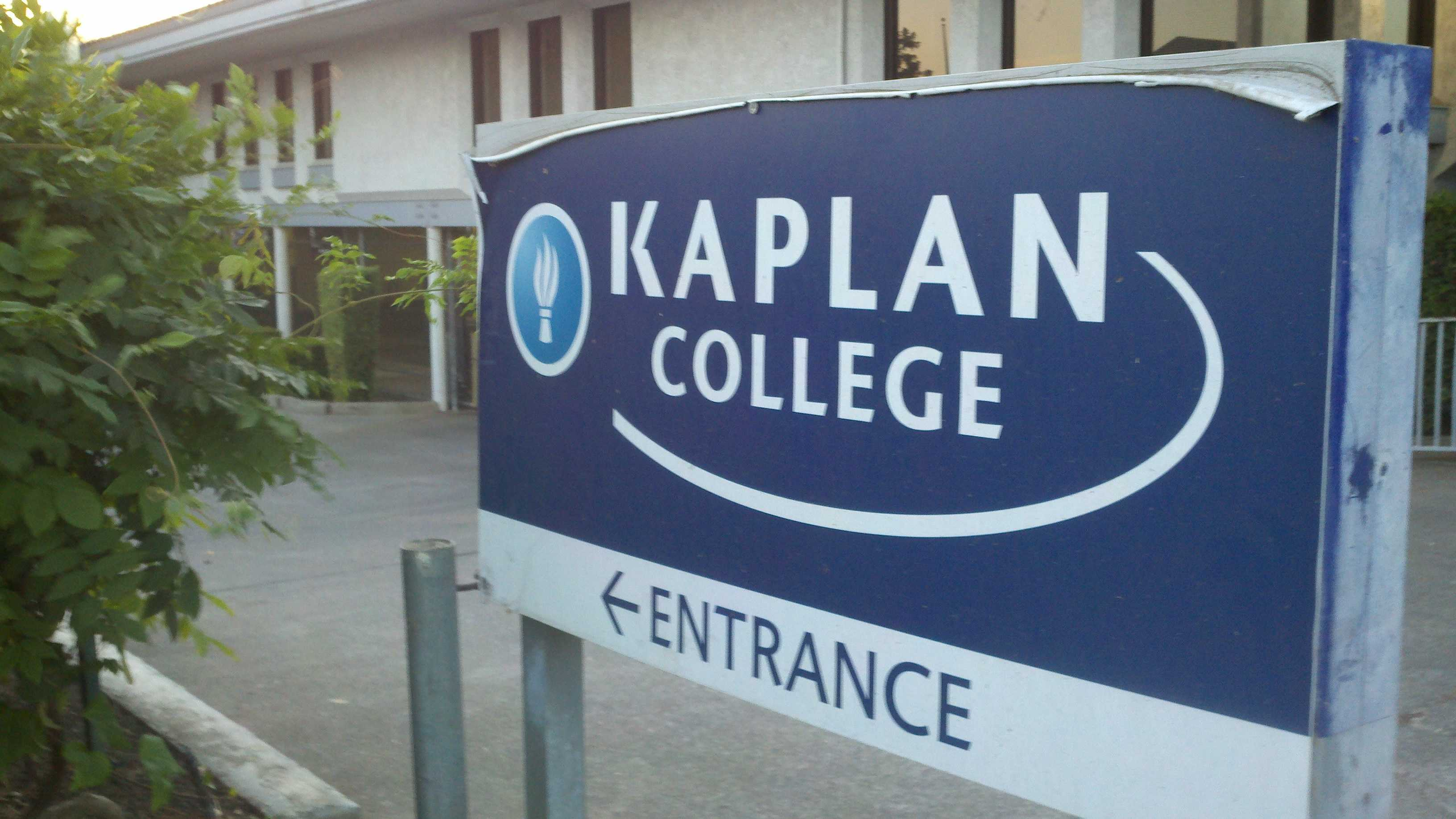 Kaplan College is no longer enrolling new students at its Stockton campus.
