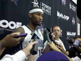 DeMarcus Cousins is entering his third season for the Kings.