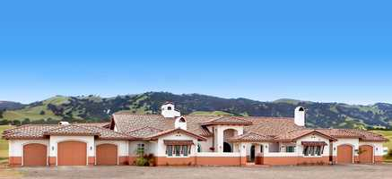 This estate has stunning views and includes more than 6,000 spare feet of living space. For more information, go here.