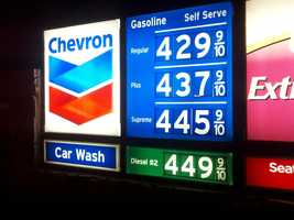 Whether you are traveling this weekend, or just shuttling the kids to soccer or football games, you can find the cheapest gas prices where you live by clicking here.