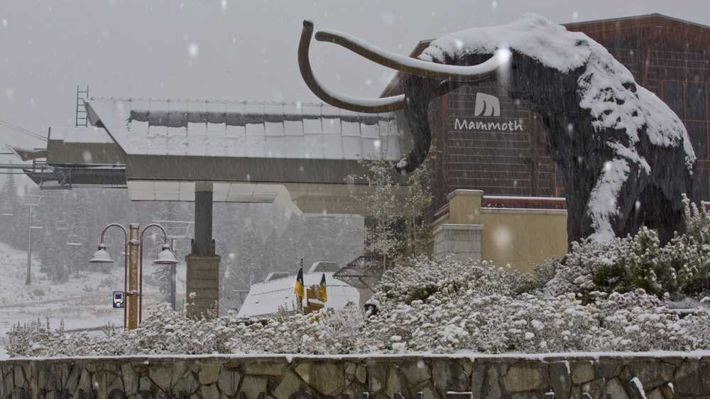 Snow at Mammoth 1