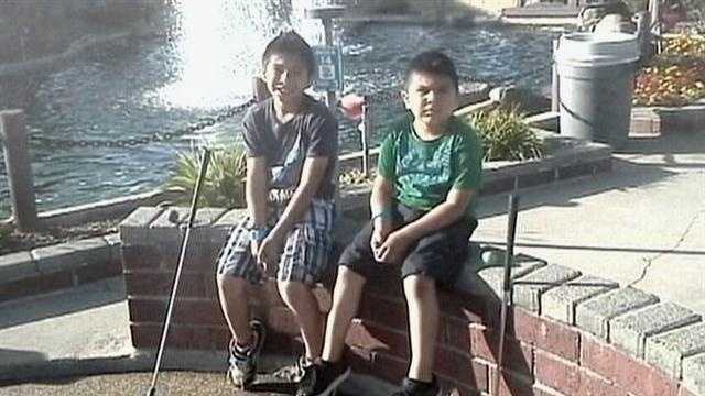 A 6-year-old Citrus Heights boy was in a coma after he and his 8-year-old brother were hit by a suspected DUI driver while they were walking to school.