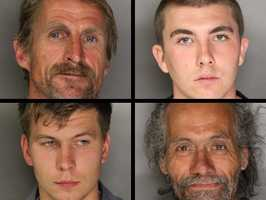 Authorities made 11 arrests during an operation in an area well known for prostitution. See who was arrested.