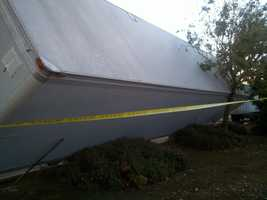 Here is damaged from Monday's storm in Elk Grove, where the NWS confirmed a EF1 tornado. Read full story