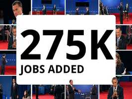 The largest spurt of job growth in the Obamaadministrationcame this year. According to the Bureau of Labor, the U.S. economy added 275,000 jobs in January.