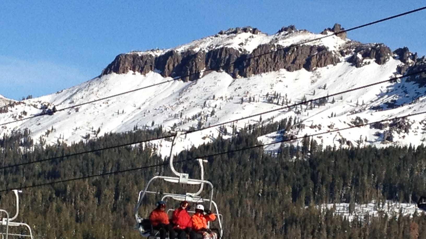 Skiing at Boreal