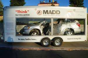 The MADD crash car.