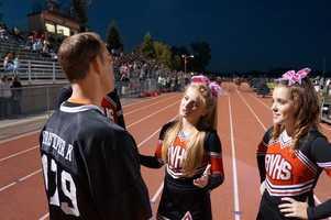 A Bella Vista cheerleader asks Chris K. for One Direction tickets.