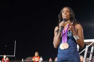 Olympic multi-medalist DeeDee Trotter.