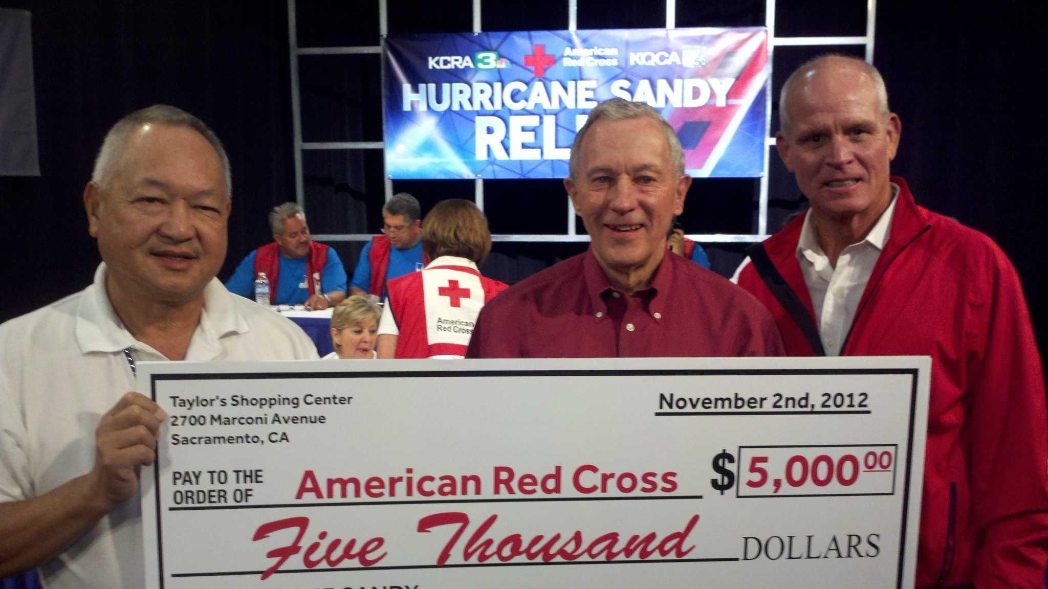 Hurricane Sandy check