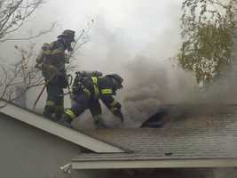 Firefighters put out a house fire that started inside a packed garage in Sacramento County on Thursday.