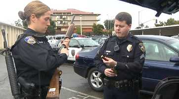 """""""I'm very excited,"""" Dewing said. """"The sense that you get is that it's exhilarating and something new."""" Dewing said her family did express concern over her decision to join the force in Stockton."""