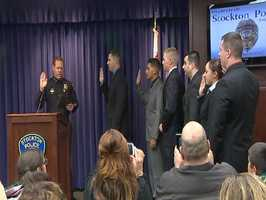 For comparison, in Sacramento, there are zero rookies on patrol. Stockton has lost more than 50 officers this year, including the top gang officer, top narcotics officer, a gang detective and more. Many of them left in the midst of Stockton's financial troubles.