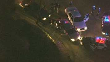 LiveCopter 3 HD image of I-80 police chase.