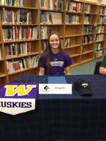 Ali Aguilar of Casa Roble High School will be a Husky next year, playing softball for the University of Washington.