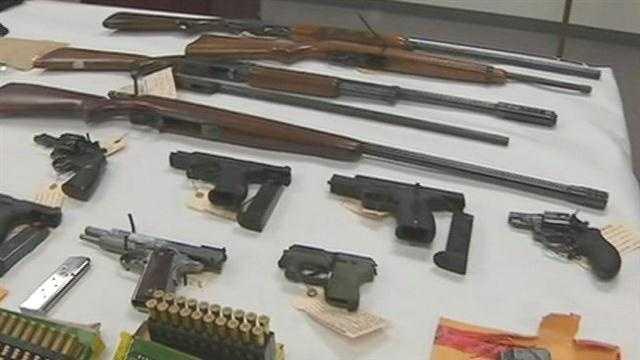 Gang members arrested in Stockton raids