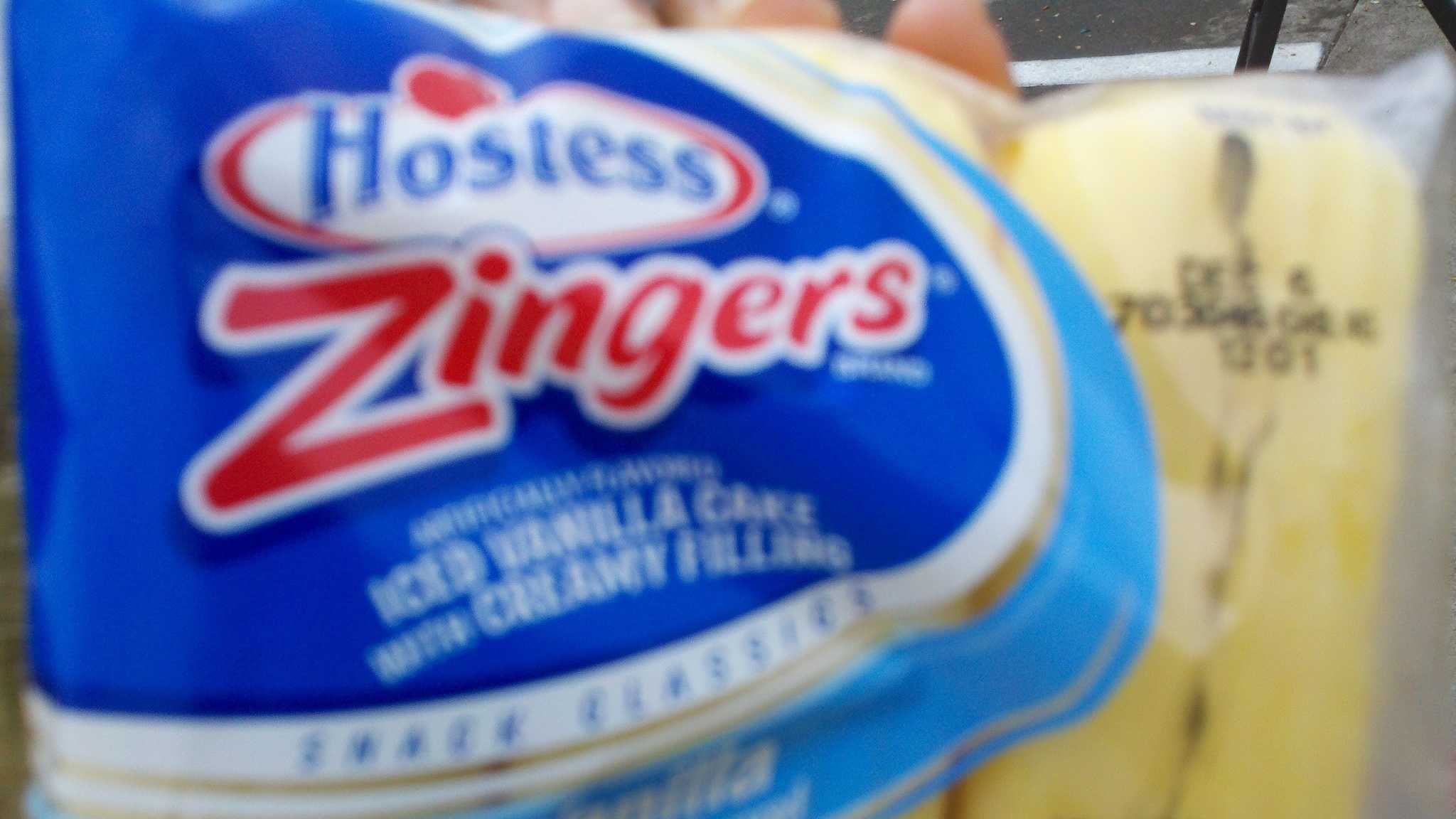 One of the last bags of Zingers (Nov. 16, 2012).