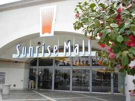 Sunrise MallThursday 6 p.m. until Friday 10 p.m.