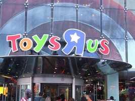 "Toys""R""UsThursday 5 p.m. until Friday 11 p.m."