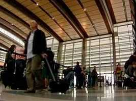 As people prepare for some travel over the holiday season, take a look at which airports will be the least busy, according to a new list by Orbitz.com.