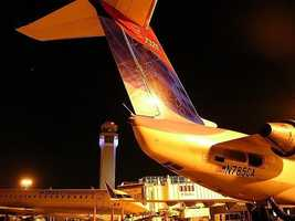 7) Cleveland Hopkins International Airport