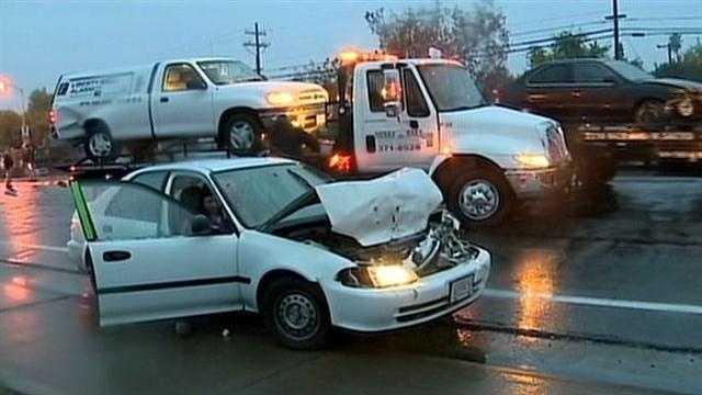 Watt Avenue crash
