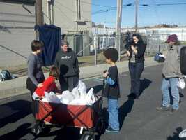 """Tommy told KCRA 3 News he was concerned about the homeless people in downtown Sacramento because, """"Some of them looked like my grandfather."""""""