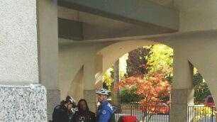 Comedian Katt Williams questioned outside the Hyatt Hotel in Sacramento.