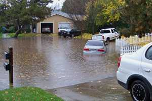 The third in a series of storms moved into the Northern California region on Sunday.