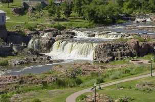 8. Sioux Falls, S.D. has an unemployment rate of 3.7 percent.