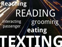 What is distracting driving?