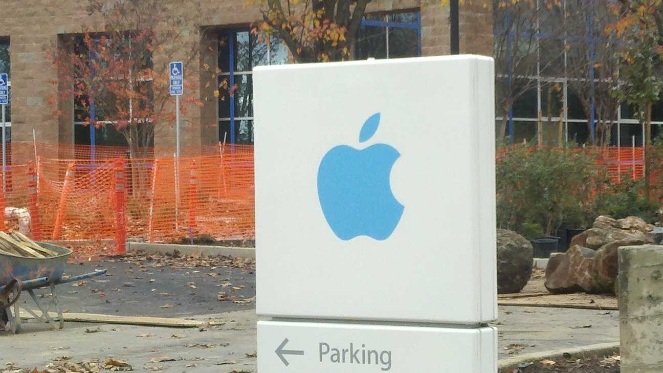 Apple employs an estimated 1,200 people at its facility in Elk Grove, according to city officials.