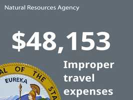 Department: Natural Resources AgencyIssue: Improper travel expensesCost to state: $48,153