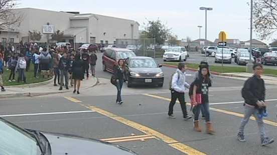 School crosswalk safety