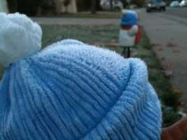 Frost was evident throughout the Rocklin area Wednesday morning (Dec. 19, 2012).
