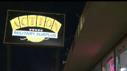 Doomsday predictions have people buying preparedness supplies at Action Military Surplus in Sacramento.