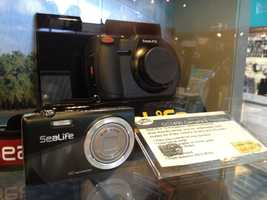 Catch every moment under and above water with the SeaLive camera and housing, for $499.95.