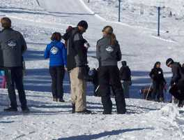 A snowboarder died after triggering an avalanche Monday at Donner Ski Ranch, according to the Nevada County Sheriff's Department and the resort's operations director.