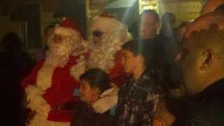 Santa in Stockton