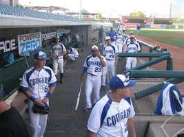 Capital Christian baseball playing against Dixon High School at Raley Field.