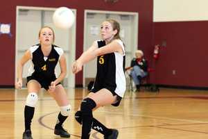 Delta High School girls volleyball
