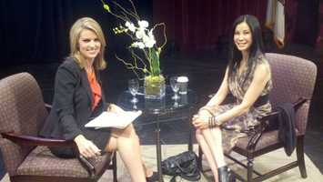 KCRA 3's Kellie DeMarco sits down for an interview with journalist Lisa Ling.