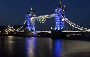 London was home to the 2012 Summer Olympic Games.