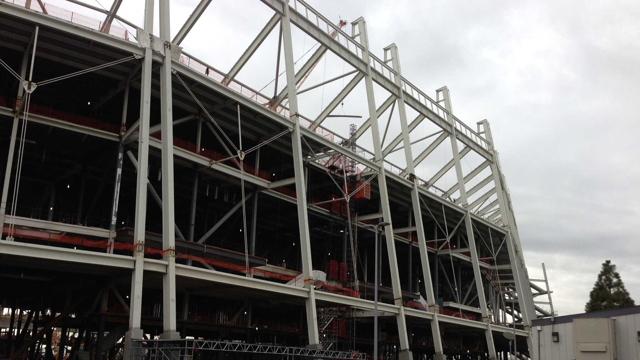 The new stadium is estimated to open in July 2014.