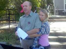 The parents of the once-missing UC Davis student hold a news conference to confirm details on what happened to their daughter, Linnea Lomax. Lomax had been missing since June 26. Her body was spotted just south of Glenn Hall Park in East Sacramento, near the American River in September by her mother.