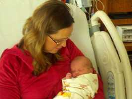 Twenty minutes after the clock struck midnight, the first baby of the year -- in the Sacramento area, that is -- was born (Jan. 1, 2013).